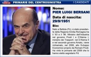 Mini-scheda di Pier Luigi Bersani