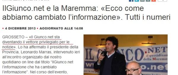 """Marras a """"Il Giunco"""""""