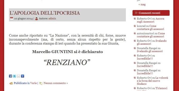 Giuntini Renziano?!