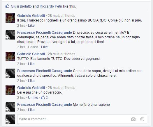 Gabriele Galeotti mi commenta