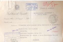 Un documento riservato del Ministero degli Interni