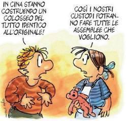 """La vignetta di Staino """"sparita"""" da """"L'Unità"""""""